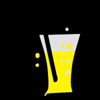 Bier & Schnurrbart Stroh