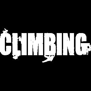 Climbing bouldern Bergsteigen