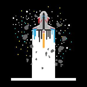 Spaceship Timeline - Galaxie Weltall Raumfahrt