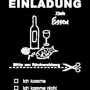 EINLADUNG zum Essen Wein Tapas