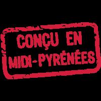 entworfen Label Midi Pyrenees