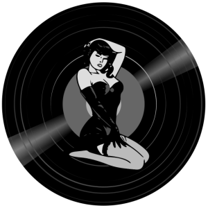 Vinyl Record Pin-up