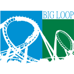 Big Loop Coaster Fan Logo