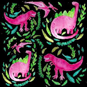 Rosa Dinosaurier für Mädchen Geschenk