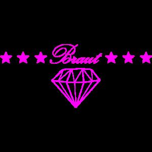 Braut mit Diamant
