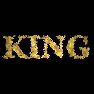 Glitter Gold King