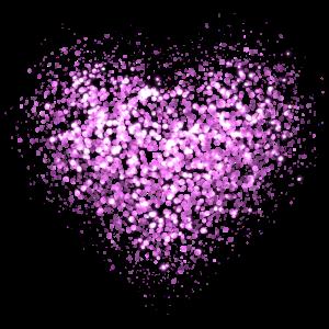 Glitter Herz