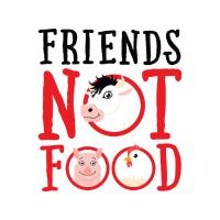 Friends Not Food - Go Vegan