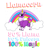 Llamacorn, Lama + Einhorn = Magie! Geschenk