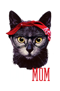 Cat Mom Cats Mom Babe Kittens Hipster