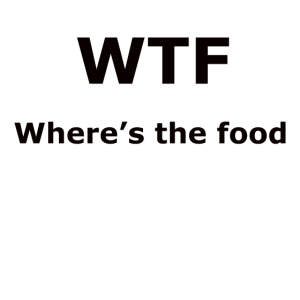 Where´s the food, T-shirt