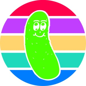 Vintage Colored Pickle #5