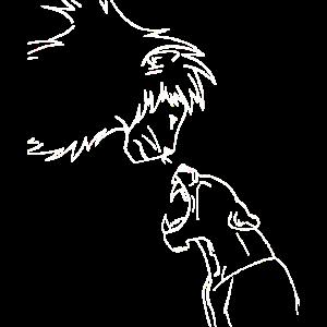 König Löwe und seine brüllende Frau Löwin