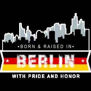 Berlin Deutschland Geboren Aufgewachsen Geschenk