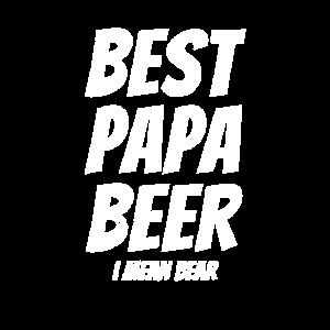 Bestes Papa-Bier Vatertags-T-Shirt - ich meine Bär
