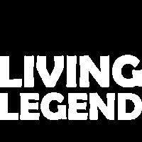 Living Legend lebende Legende Spruch Geschenkidee