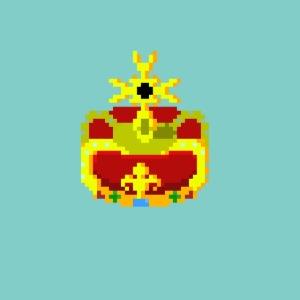Couronne Pixel art