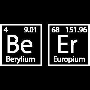 Bier Periodensystem Chemie Geschenkidee