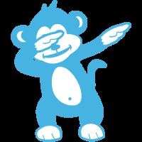 Affen tupfen