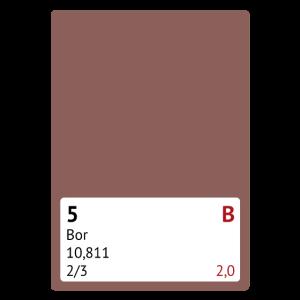 Chemie Periodensystem Bor