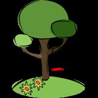 Natur Baum Schaukel
