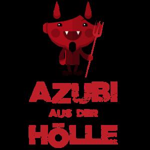 AZUBI Auszubildender Lehrling Hölle Teufel T-Shirt