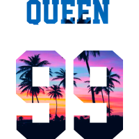 QUEEN 99 PALMTREE SUNSET