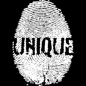Fingerabdruck Unikat