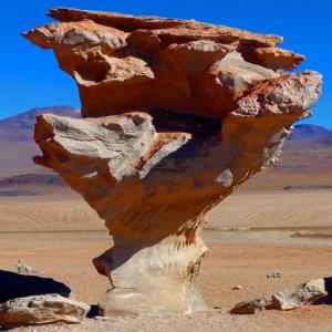 Felsen in der Wüste