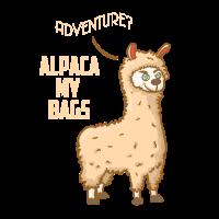 Abenteuer? Alpaka meine Taschen