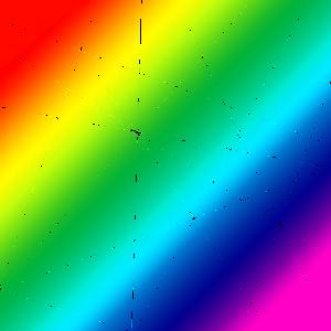 Regenbogenfarben Linien