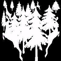 Wald mit Rehe.Geschenkidee