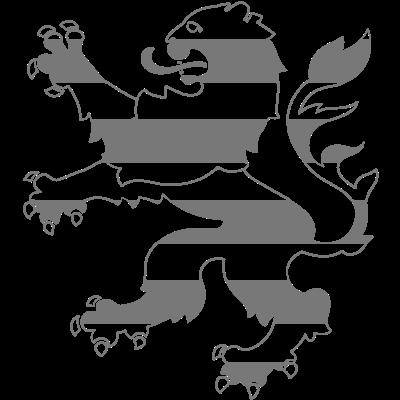 hessicher Löwe - Das Hessische Wappenmotiv als einfarbige Vektorgrafik. Natürlich am besten in Rot. ;) - löwe,hessian,hesse,coat of arms,coat,Wiesbaden,Wappen,Lion,Kassel,Hessen,Frankfurt,Darmstadt