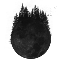 Wald Mond