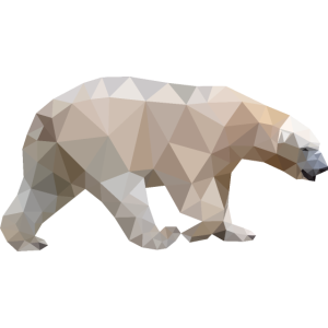 Polygon Eisbär