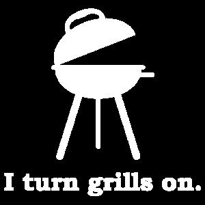 Ich mache Grills auf BBQ Shirt