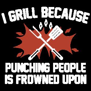 Ich grille T-Shirt