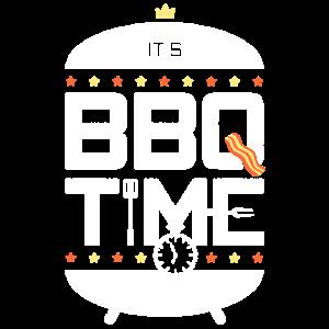 Es ist BBQ-Zeit-T-Shirt