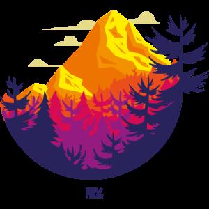 Rocky Mountains Kreis