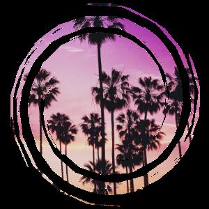 Palmen Bunt