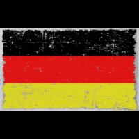 Deutschland Flagge used look Geschenkidee