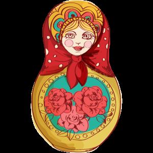 Matroschka Russland Russische Puppe Love Russia