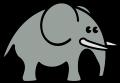 Motif Elephant
