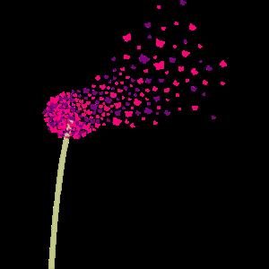 Pusteblume aus Schmetterlingen