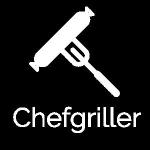 Chefgriller weiss