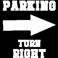parken einparken links rechts parkservice Geschenk