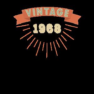 Vintage 1968 Geburtstag 50 Jahre