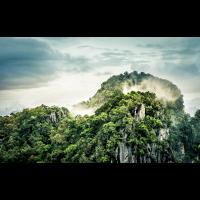 Hügel und Berge in Thailand