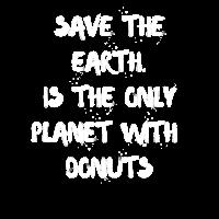 Ich liebe Süßigkeiten und Donuts