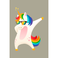 Dabbing Unicorn Dab Dance